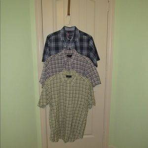 Set of 3 Button Downs Brooks Brothers & Chaps